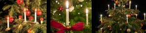 Kerstboom met Kerstboomkaarsjes