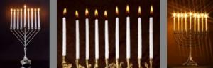 menorah kaarsen